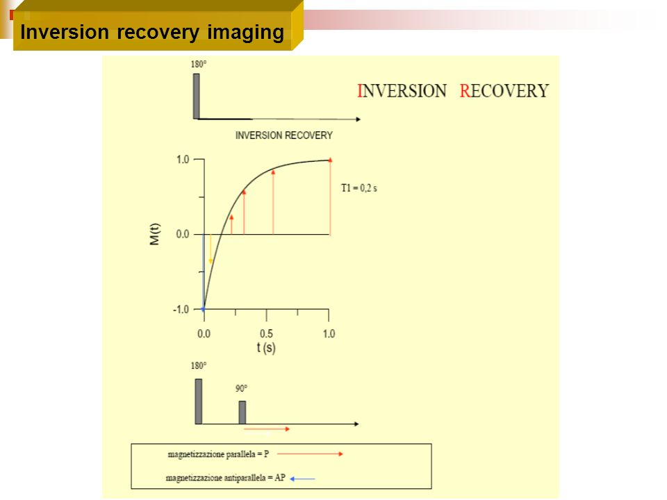 Inversion recovery imaging
