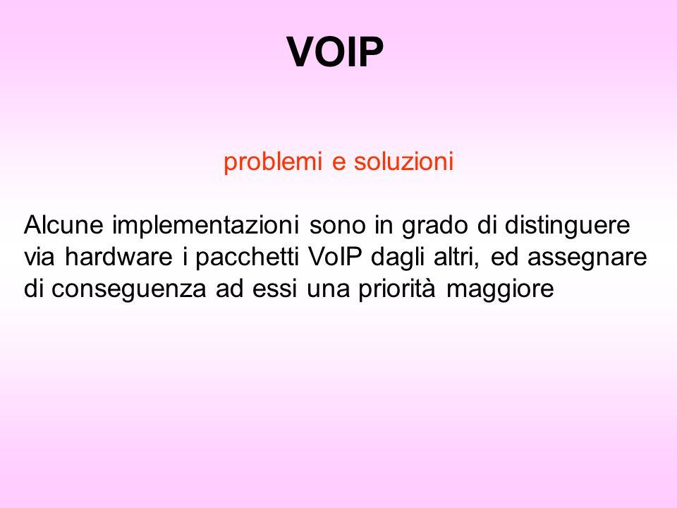 VOIP problemi e soluzioni