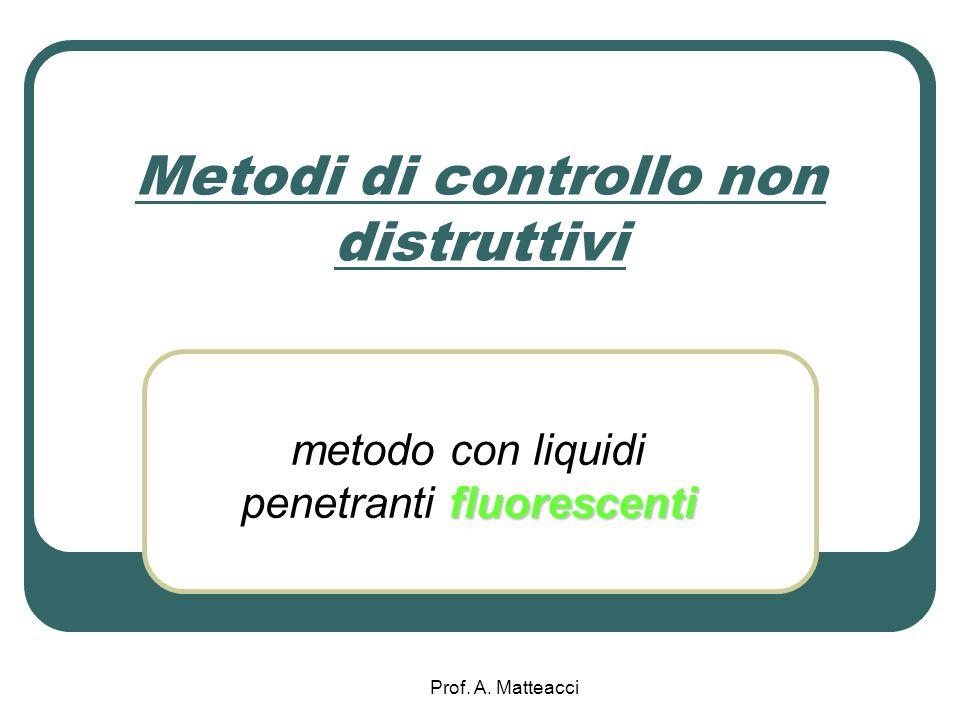 Metodi di controllo non distruttivi