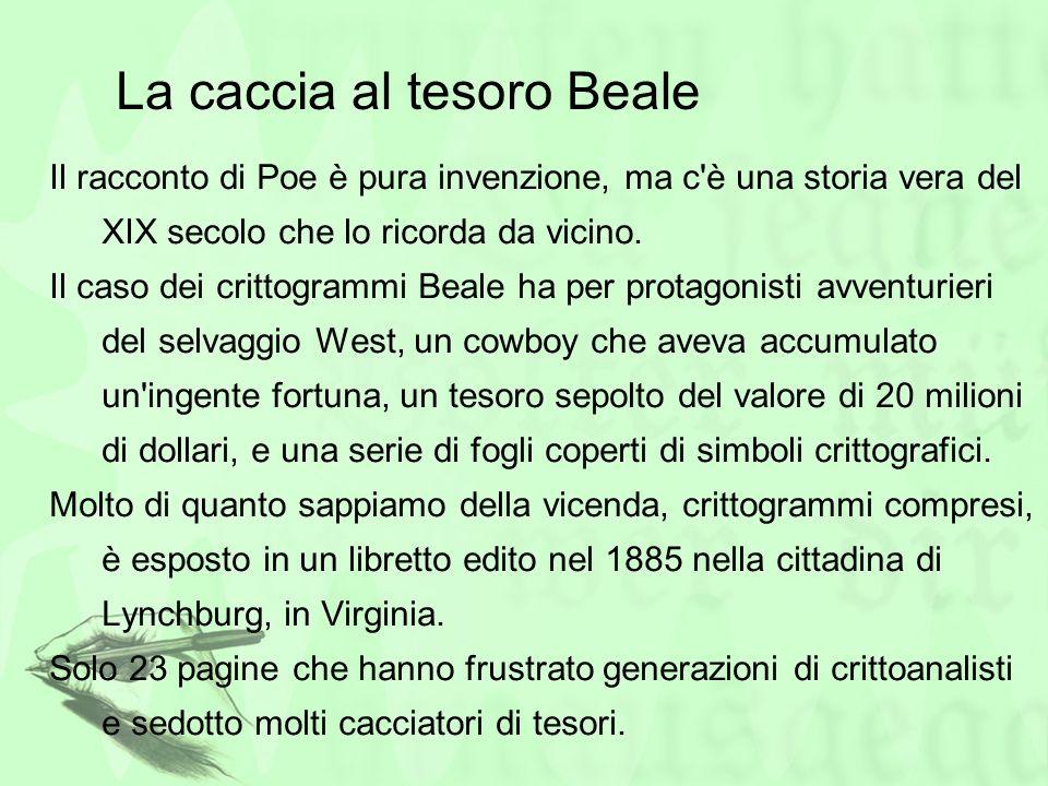 La caccia al tesoro Beale