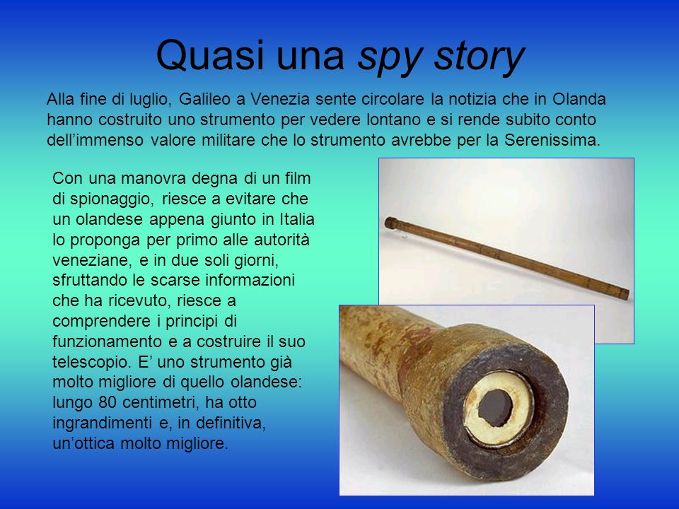 Quasi una spy story