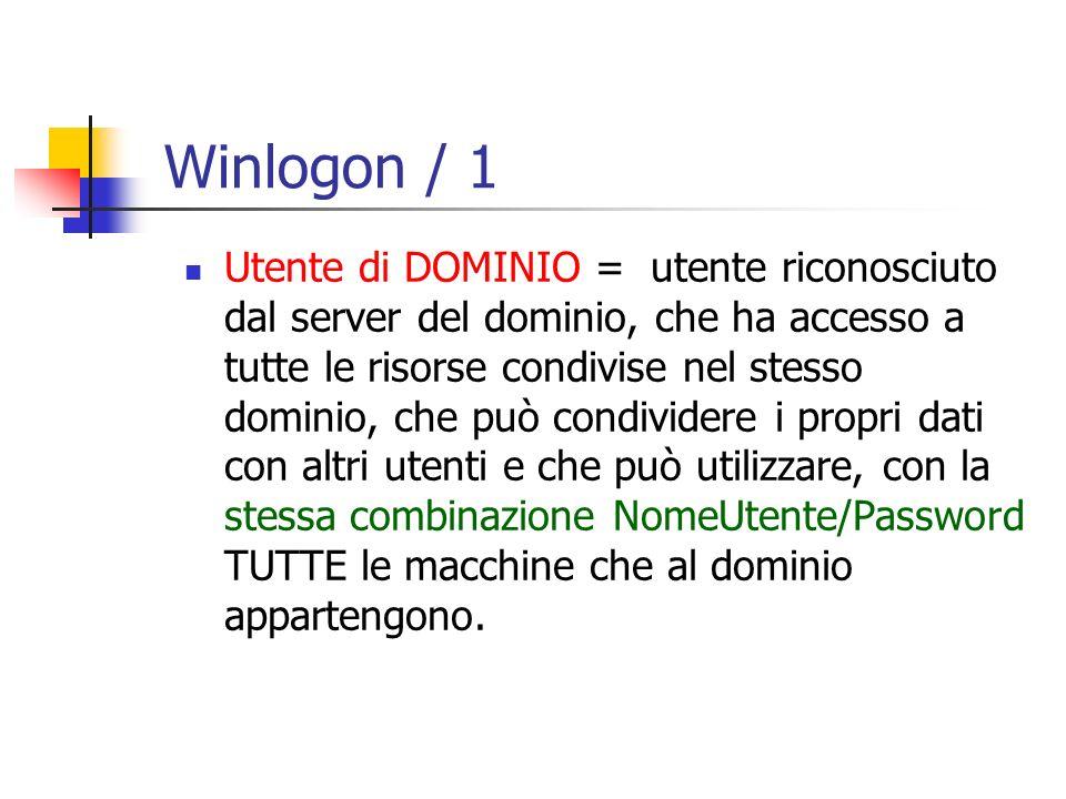 Winlogon / 1