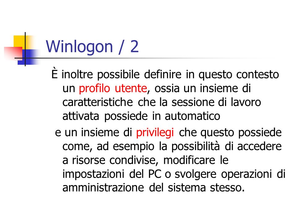 Winlogon / 2
