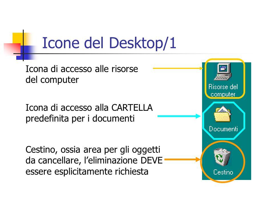 Icone del Desktop/1 Icona di accesso alle risorse del computer