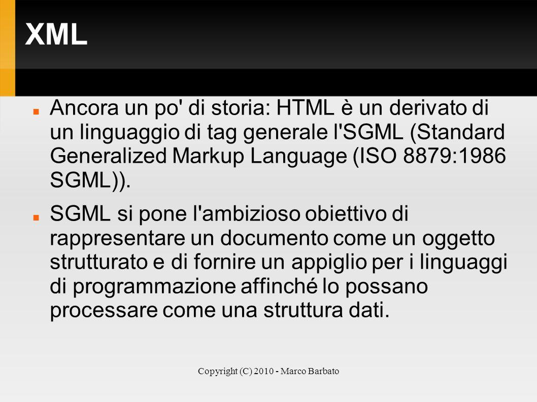 Copyright (C) 2010 - Marco Barbato