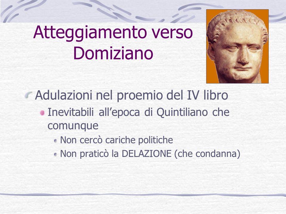Atteggiamento verso Domiziano