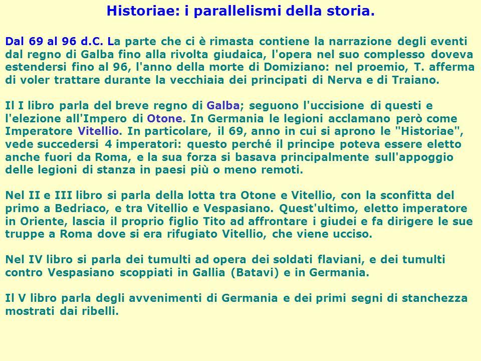 Historiae: i parallelismi della storia.