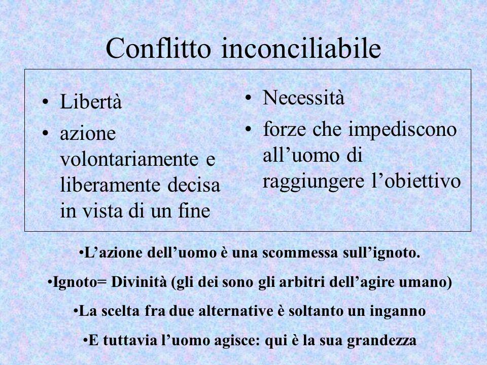 Conflitto inconciliabile