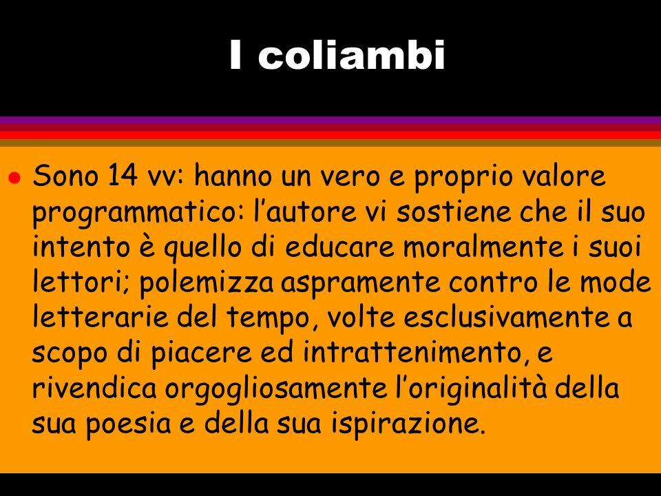 I coliambi