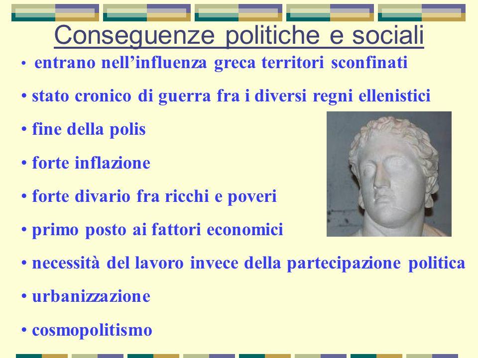 Conseguenze politiche e sociali