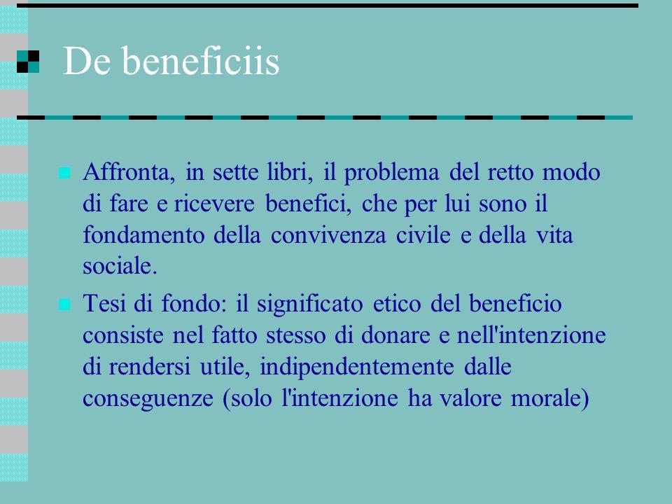 De beneficiis