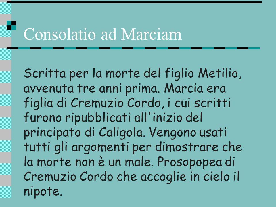Consolatio ad Marciam