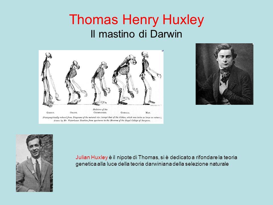 Thomas Henry Huxley Il mastino di Darwin