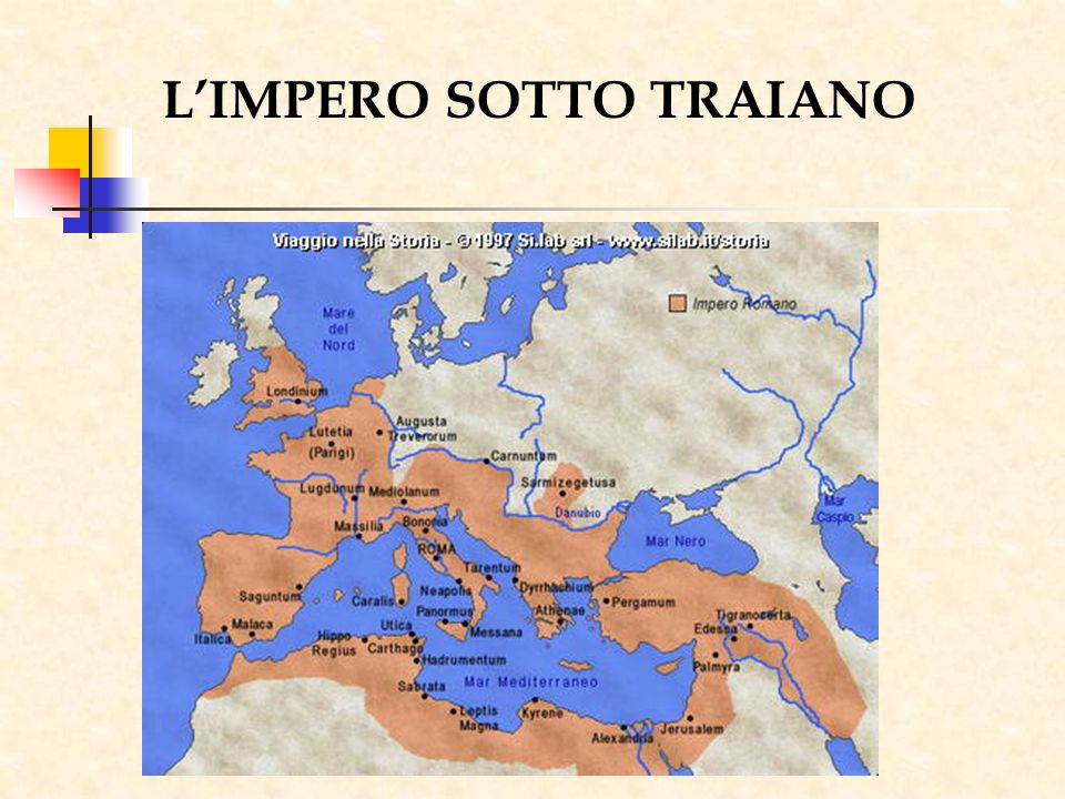 L'IMPERO SOTTO TRAIANO