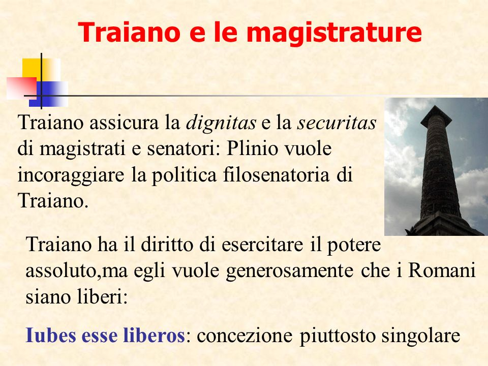 Traiano e le magistrature