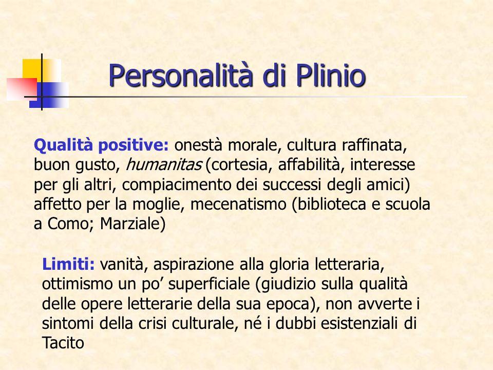 Personalità di Plinio