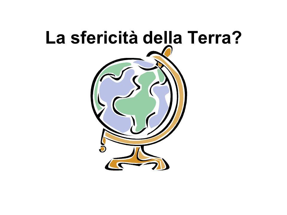 La sfericità della Terra