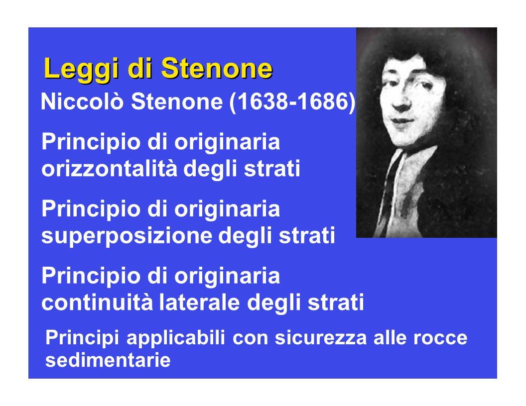Leggi di Stenone Leggi di Stenone Niccolò Stenone (1638-1686)