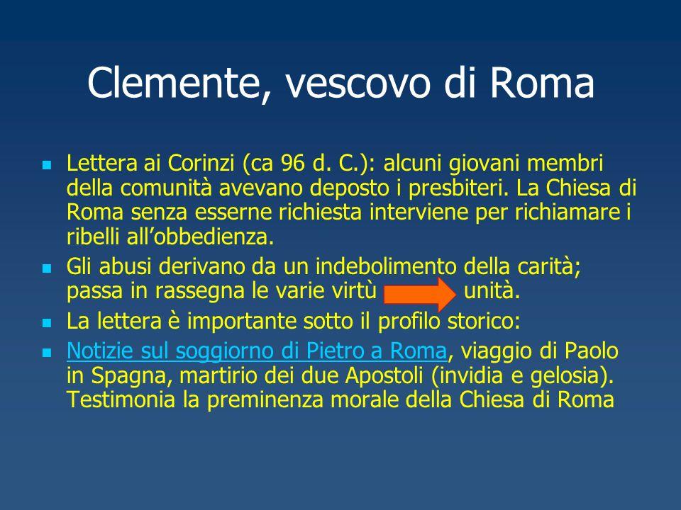 Clemente, vescovo di Roma
