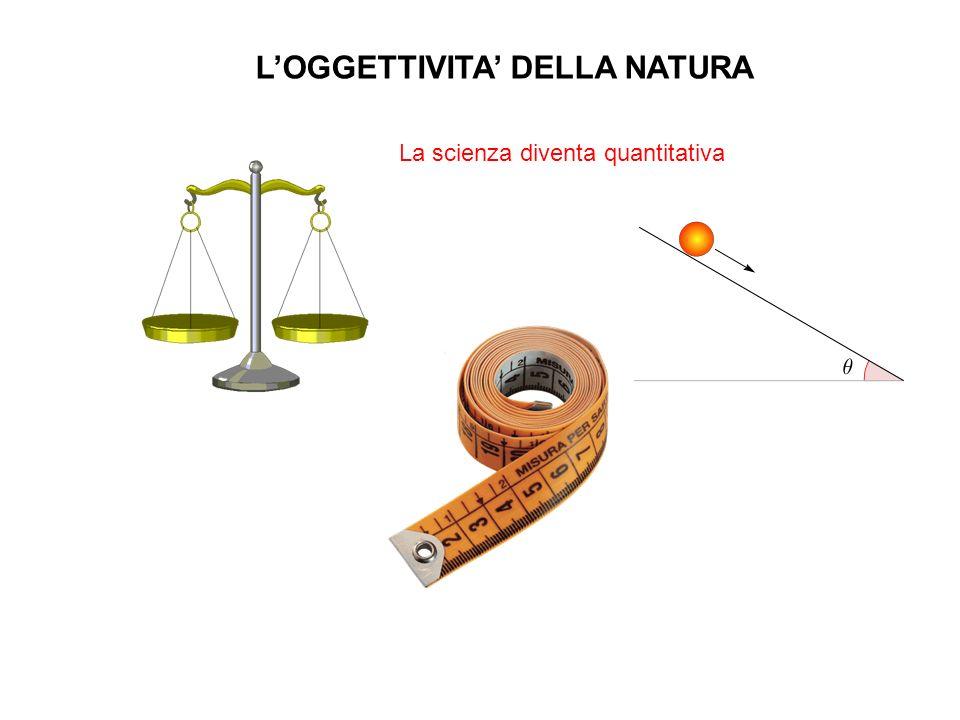L'OGGETTIVITA' DELLA NATURA