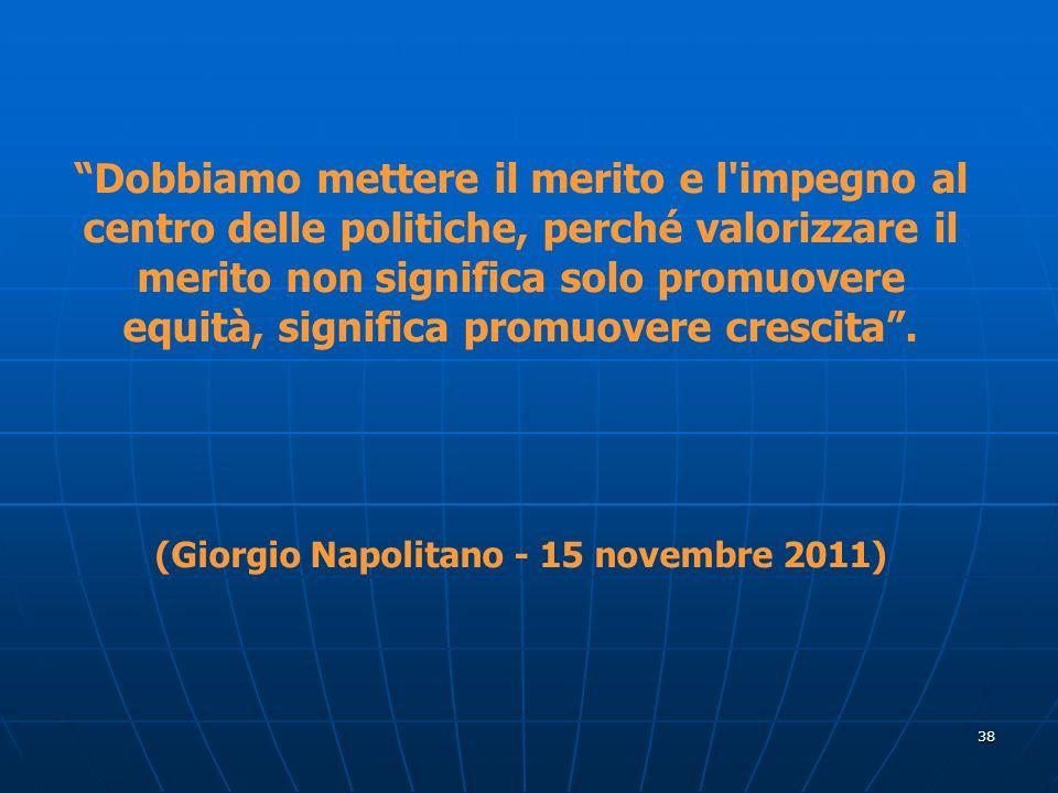 (Giorgio Napolitano - 15 novembre 2011)