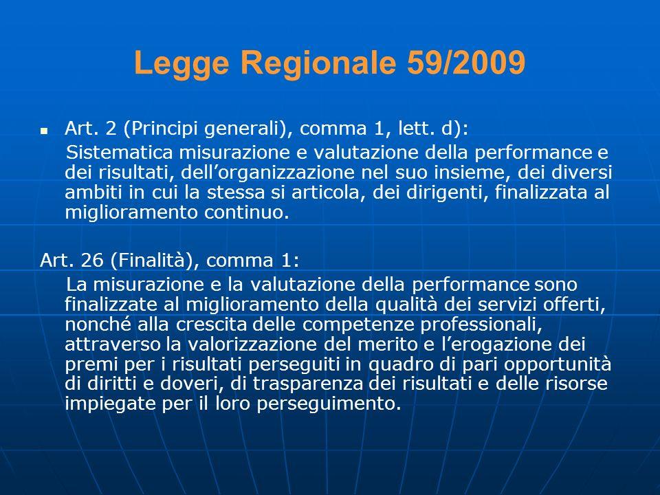 Legge Regionale 59/2009 Art. 2 (Principi generali), comma 1, lett. d):