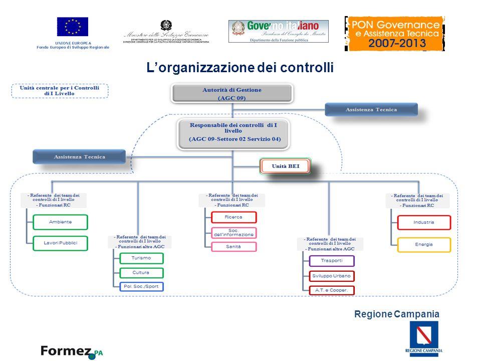 L'organizzazione dei controlli