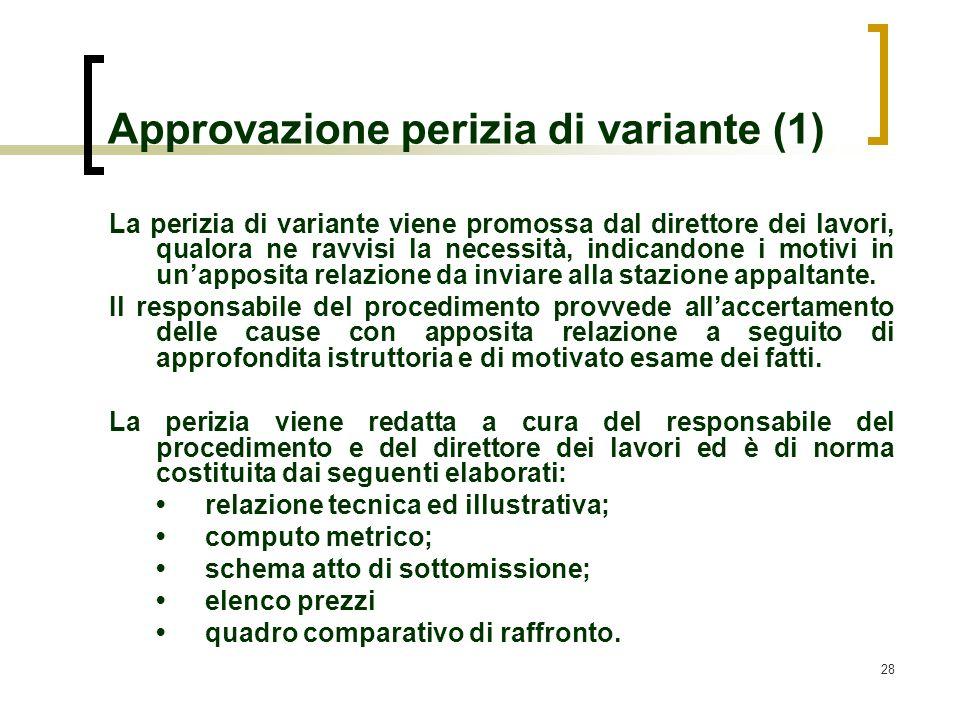 Approvazione perizia di variante (1)