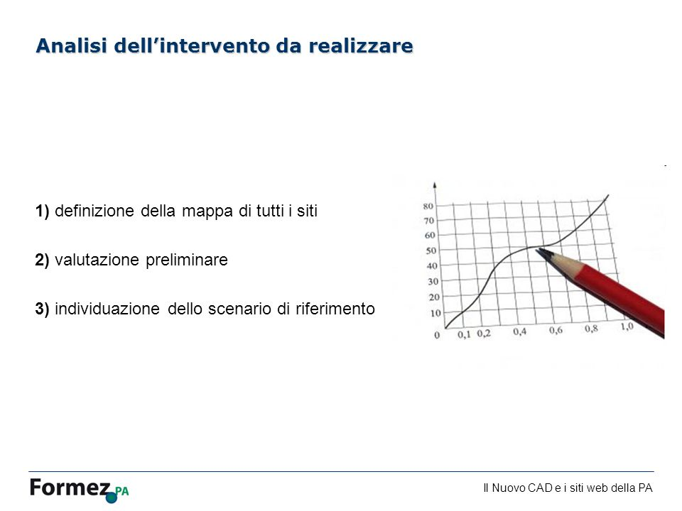 Analisi dell'intervento da realizzare