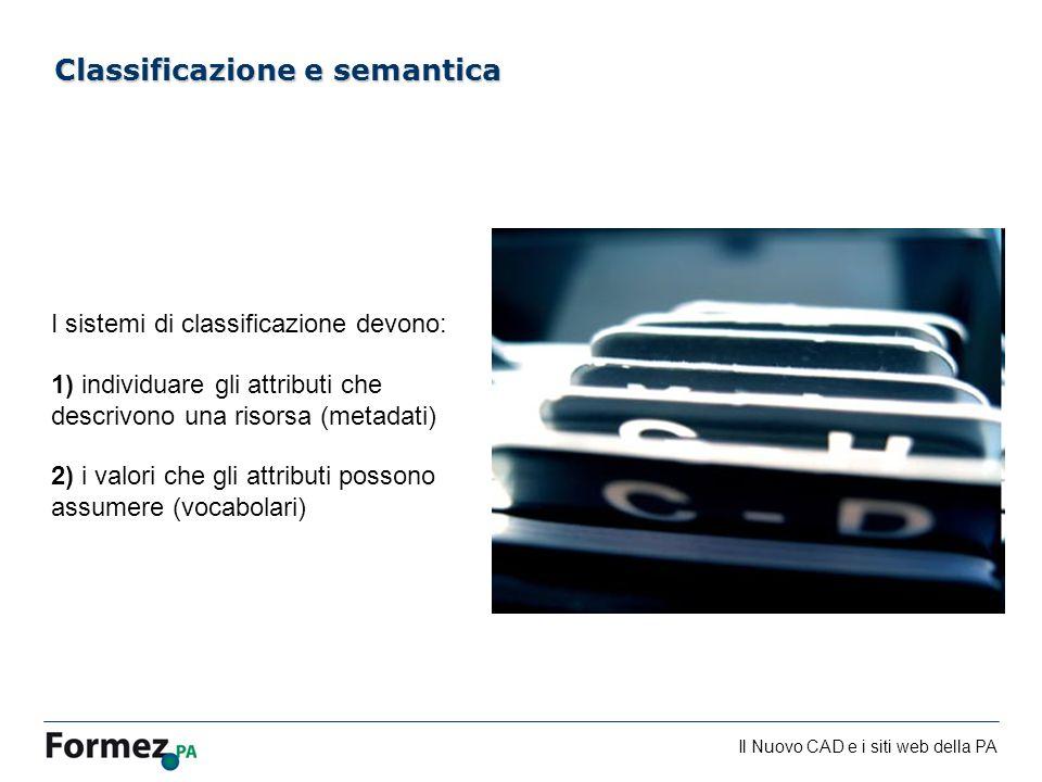 Classificazione e semantica