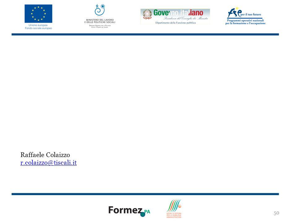 Raffaele Colaizzo r.colaizzo@tiscali.it 50