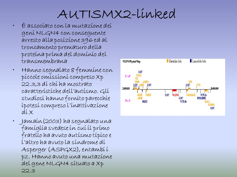 AUTISMX2-linked