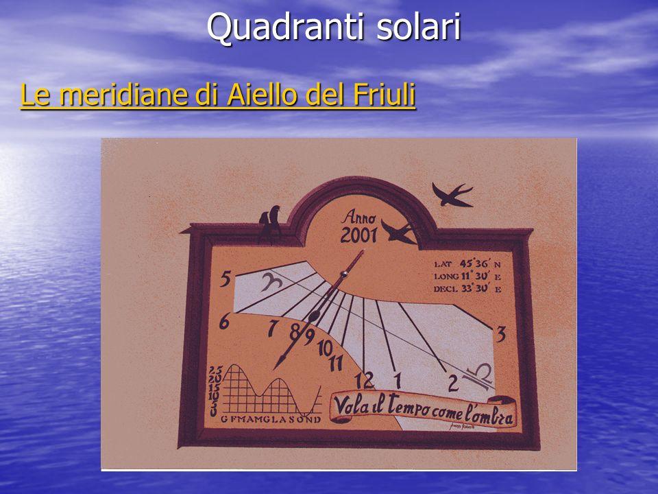Le meridiane di Aiello del Friuli