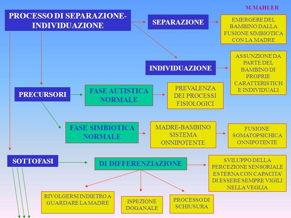 PROCESSO DI SEPARAZIONE-INDIVIDUAZIONE