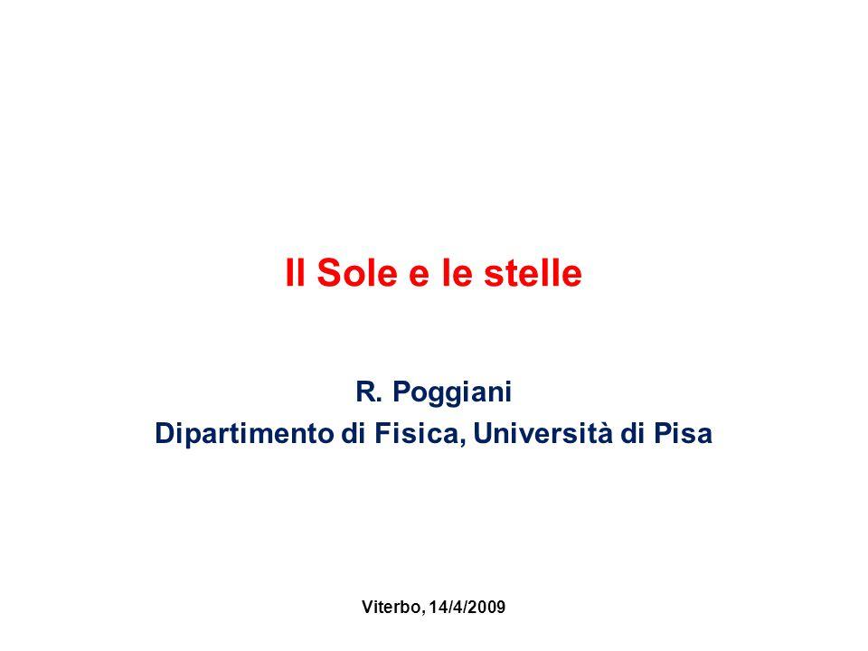 R. Poggiani Dipartimento di Fisica, Università di Pisa