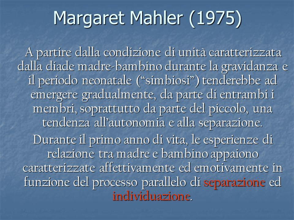 Margaret Mahler (1975)