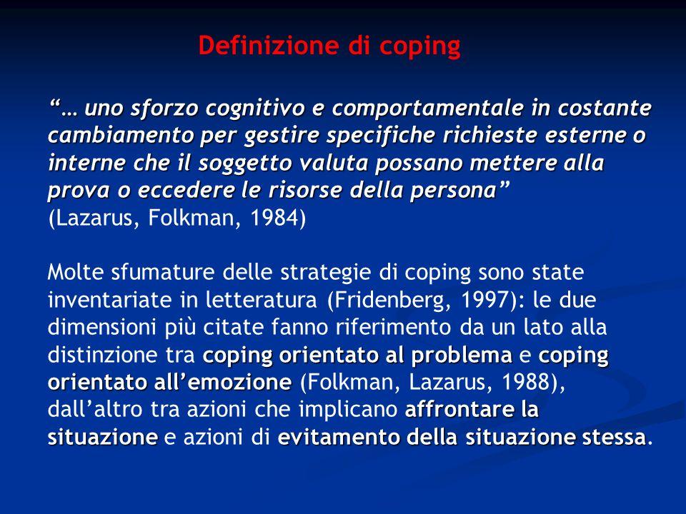 Definizione di coping
