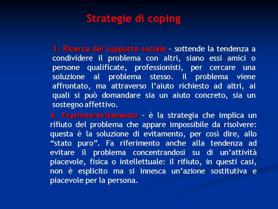 Strategie di coping
