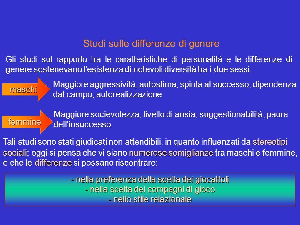 Studi sulle differenze di genere