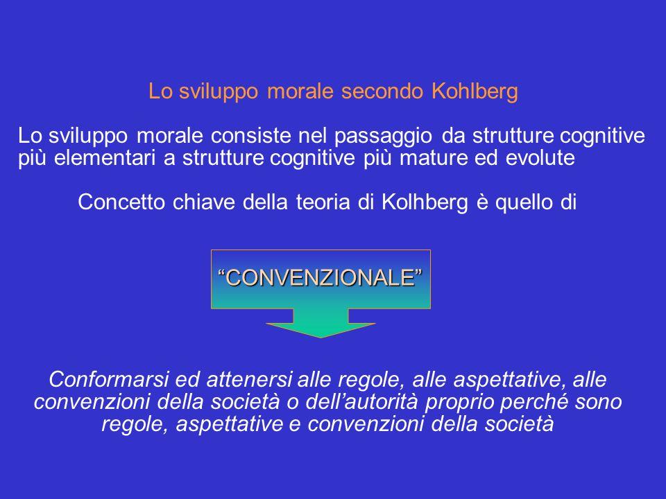 Lo sviluppo morale secondo Kohlberg