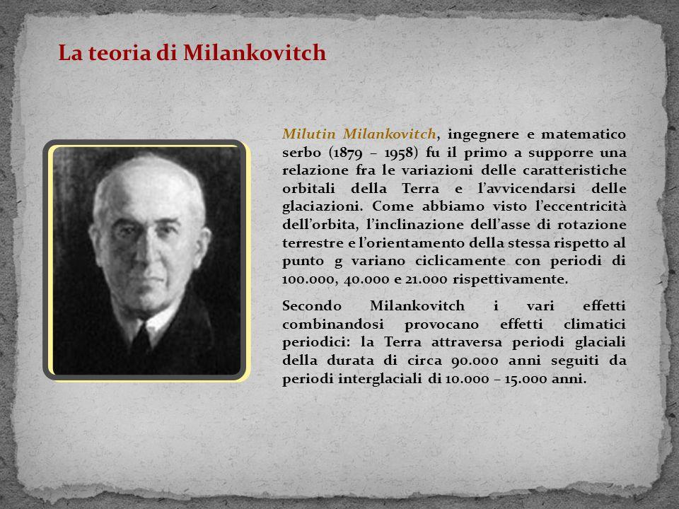 La teoria di Milankovitch