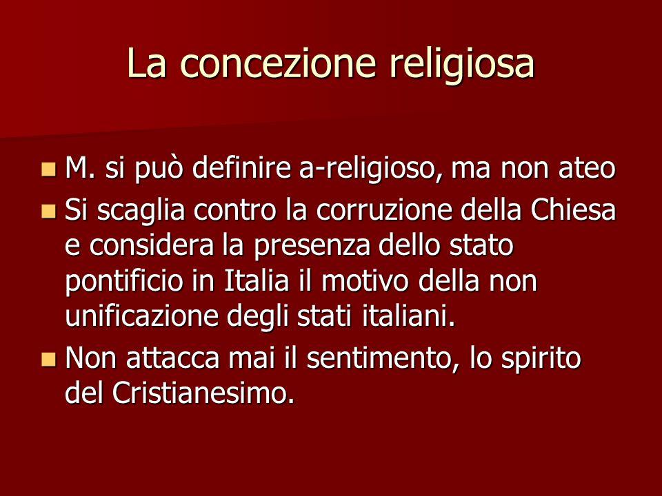 La concezione religiosa