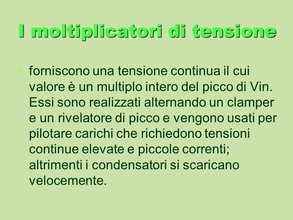 I moltiplicatori di tensione