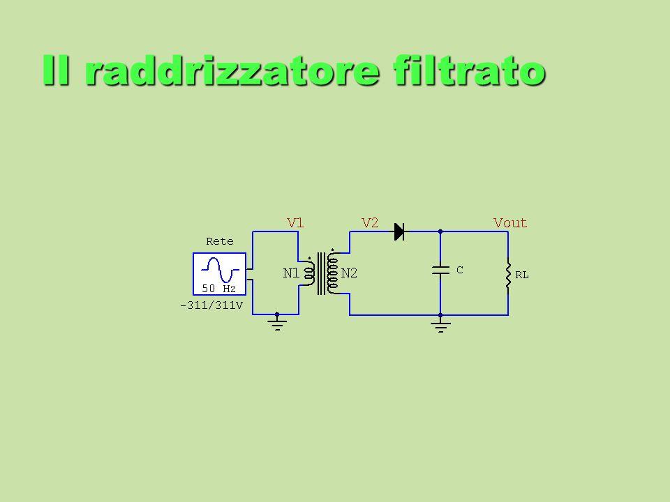 Il raddrizzatore filtrato