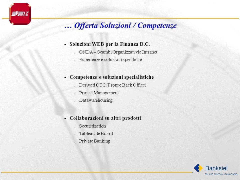 … Offerta Soluzioni / Competenze