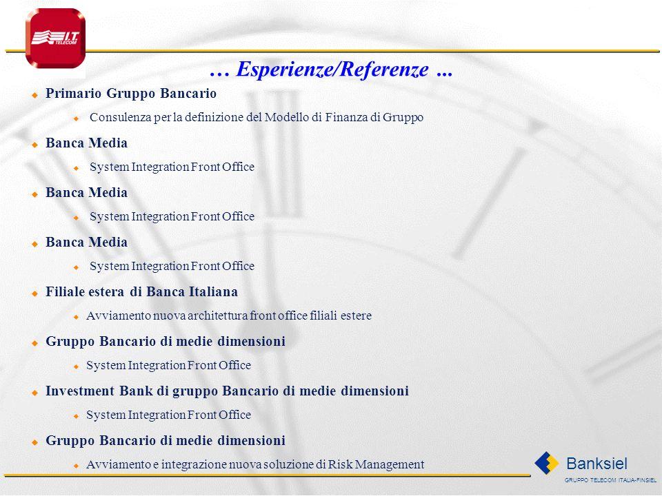 … Esperienze/Referenze ...