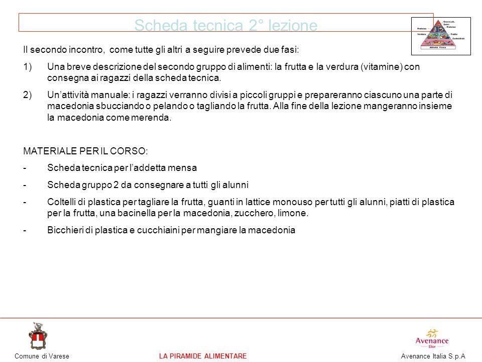 Super CORSO DI EDUCAZIONE ALIMENTARE MATERNE, ELEMENTARI, MEDIE - ppt  HV02