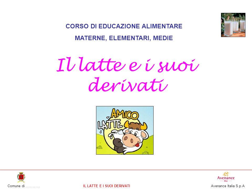 CORSO DI EDUCAZIONE ALIMENTARE MATERNE, ELEMENTARI, MEDIE