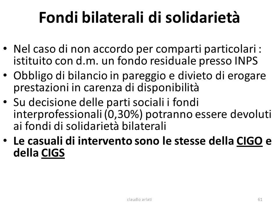 Fondi bilaterali di solidarietà