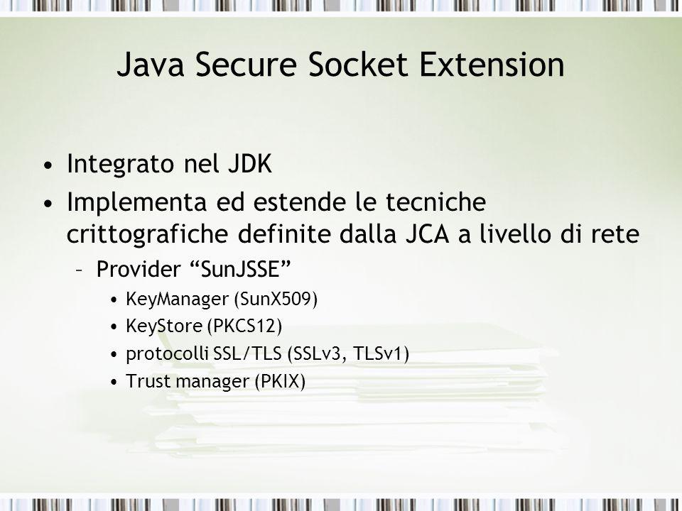 Java Secure Socket Extension